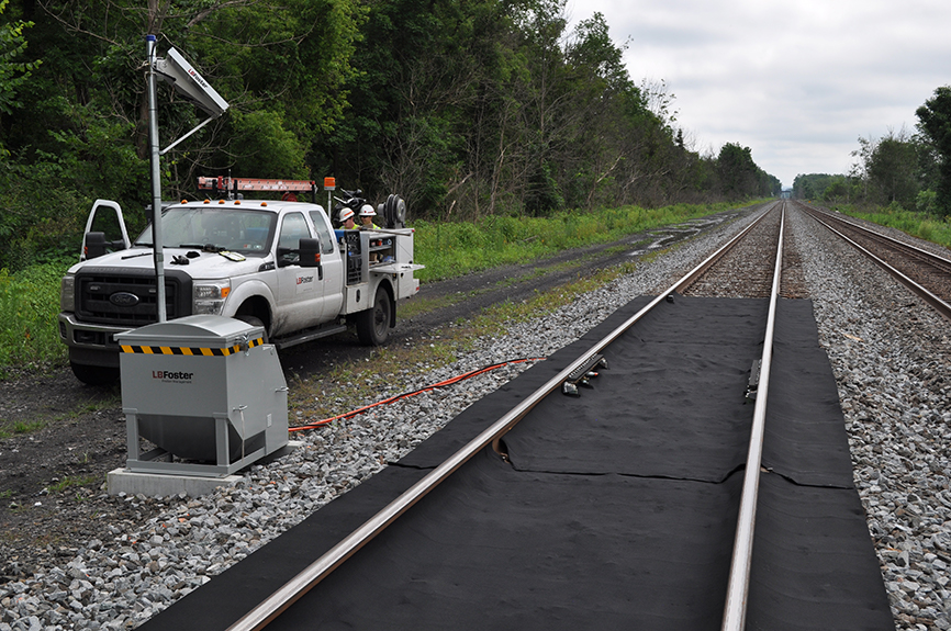 Rail Track Lubrication Systems