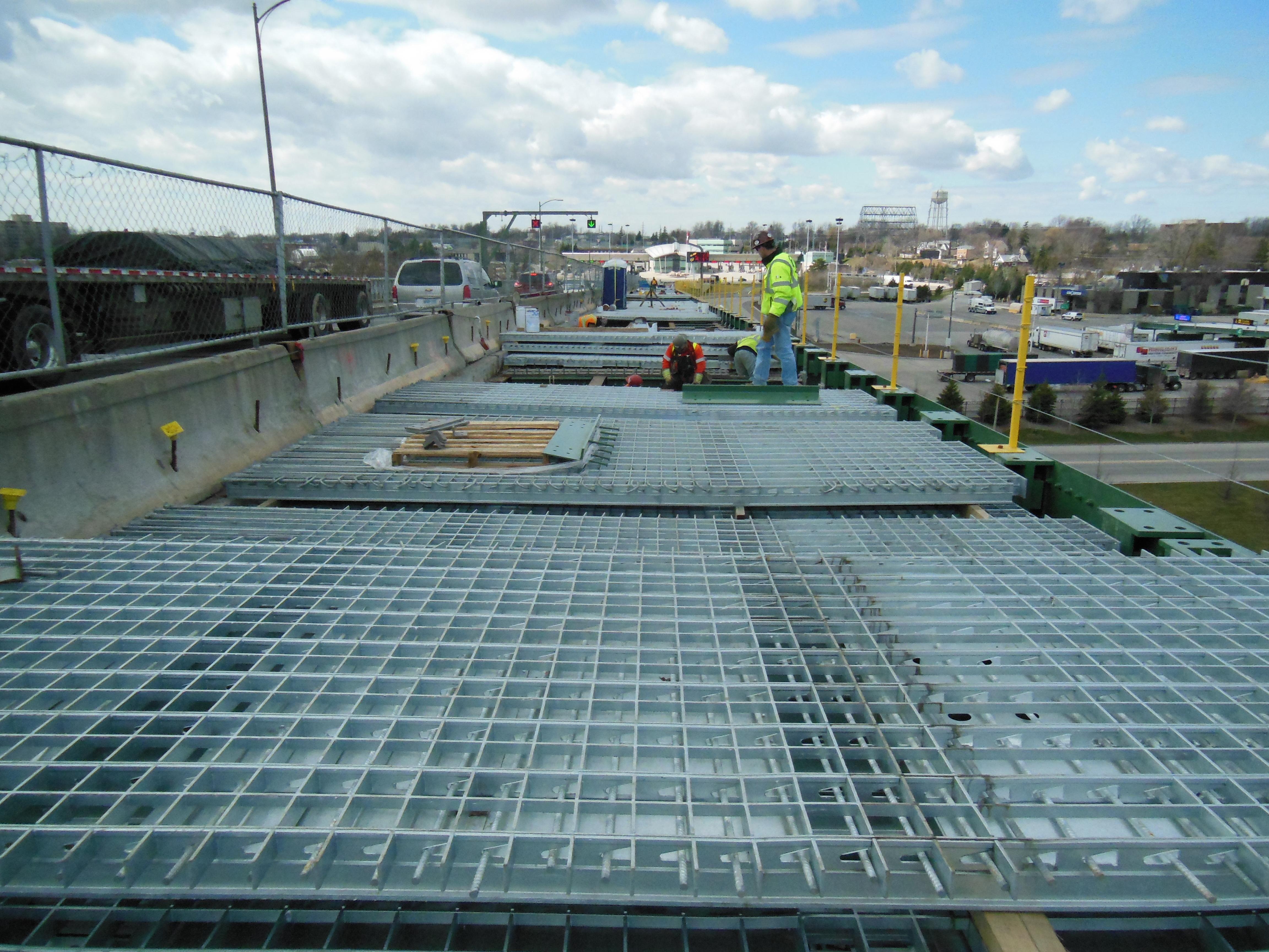 Steel Grid Bridge Decking