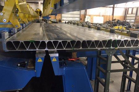 AluminaBridge Completes Fabrication of Aluminum Bridge Deck