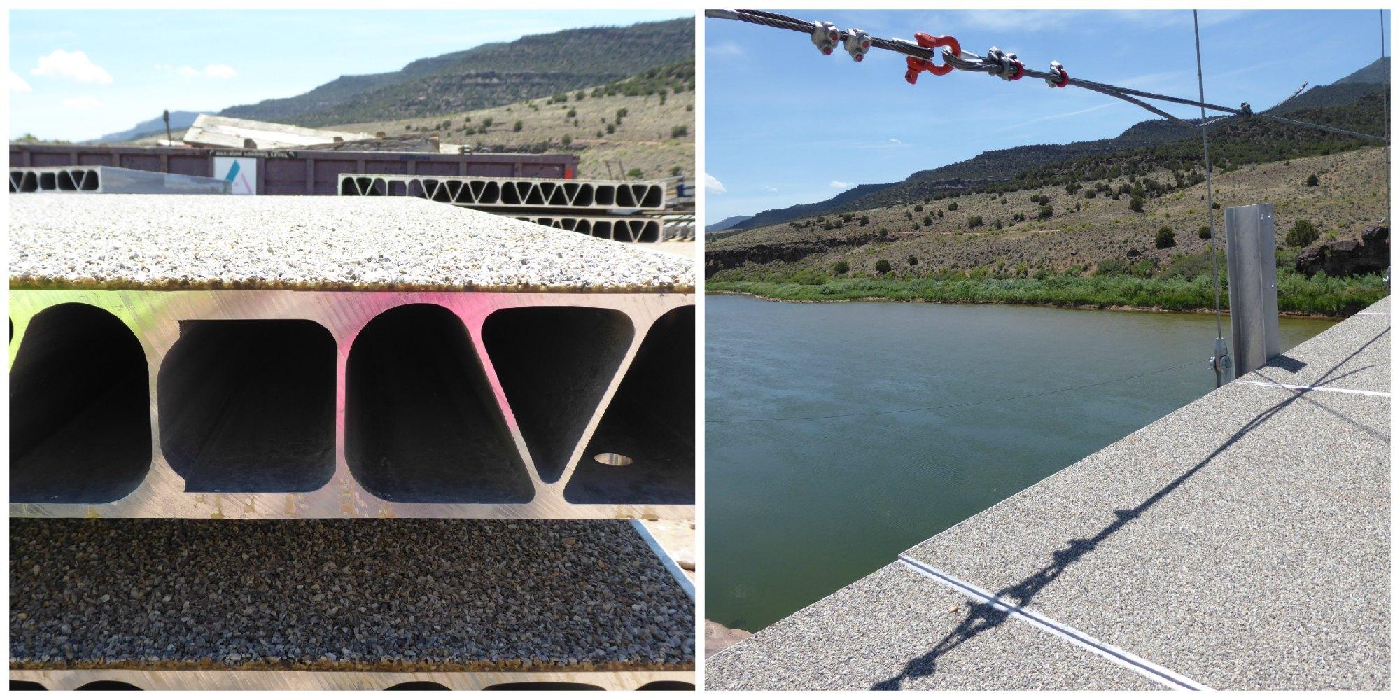 AlumaBridge® aluminum bridge deck panels