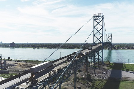 L.B. Foster Supplies $9.5 Million Steel Grid Deck and Railing Contract for Ambassador Bridge Rehabilitation