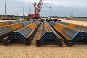 L.B. Foster Broadens Product Offerings With New Grade 60 KSI Steel PZC™ Sheet Piling