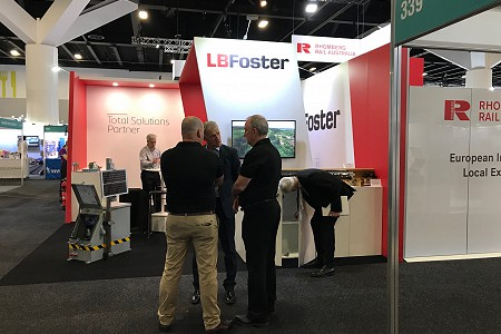 L.B. Foster Attends and Presents at AusRAIL PLUS 2019