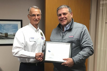 ESGR, a Department of Defense Program, Recognizes an L.B. Foster Manager with the Patriot Award