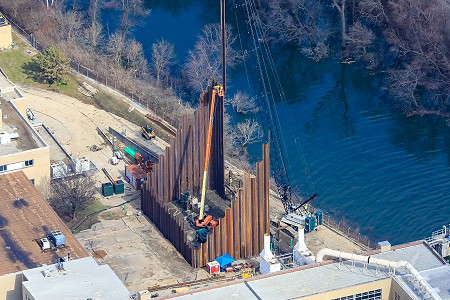L.B. Foster Provides Piling for Ohio Wastewater Treatment Plant