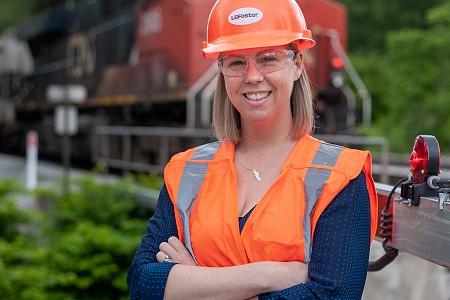 L.B. Foster's Louisa Stanlake Receives Women in Railroad Engineering Award