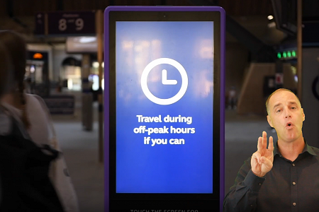 L.B. Foster Launches Digital Signage Solution to Improve Accessibility for Deaf, Hard-of-Hearing, or Visually Impaired Rail and Air Transportation Passengers